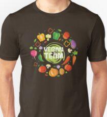 Vegan Team, Vegetarian, Veggie, Lovers, Gift, T-shirt Unisex T-Shirt