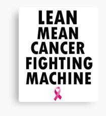 Funny Unique Breast Cancer T-Shirt Ideas Canvas Print