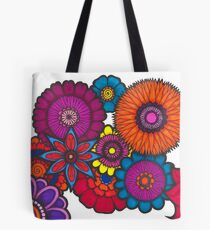 Flower Fusion Tote Bag
