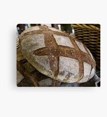 Bread Alone Canvas Print