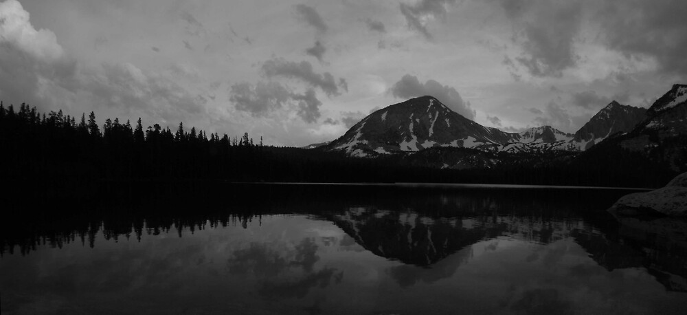 Davis Lake Evening, Eastern Sierra  by Tyler  Core