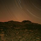 Three Hour Petroglyph Exposure, Eastern Sierra by Tyler  Core