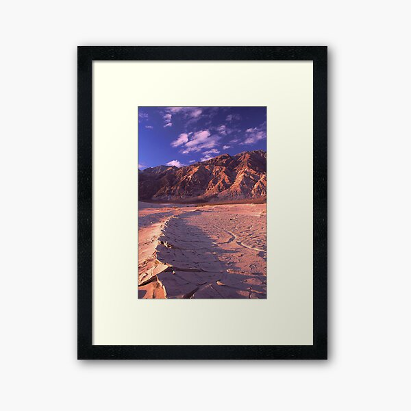 Saline Valley Sunrise Framed Art Print