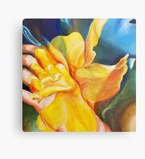 Echo and the Daffodil  Metal Print