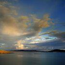 Big  Sky Isle  of Harris by Alexander Mcrobbie-Munro