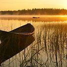 Wooden boat by Veikko  Suikkanen