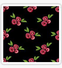 Pattern design with floral elements Sticker