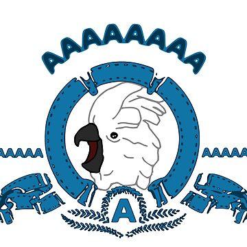 AAAAAA logo - cockatoo by FandomizedRose
