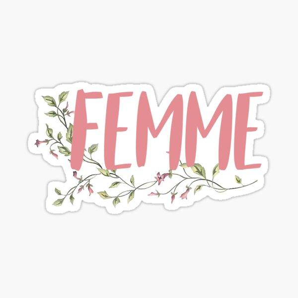 femme Sticker