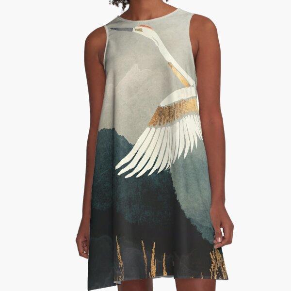Elegant Flight A-Line Dress