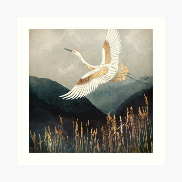 Elegant Flight Art Print