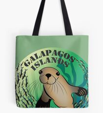 León Marino Galapagos Islands Tote Bag