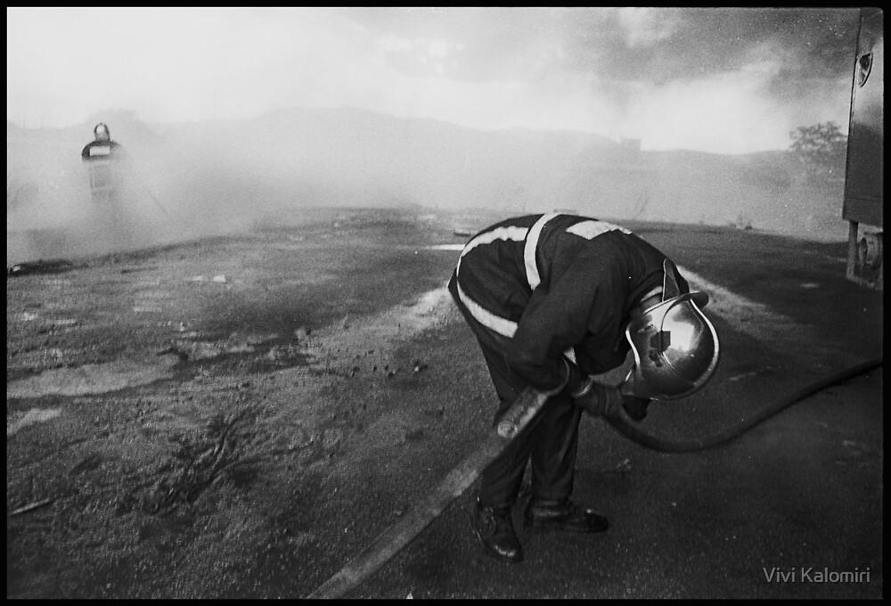 Fire#2 by Vivi Kalomiri