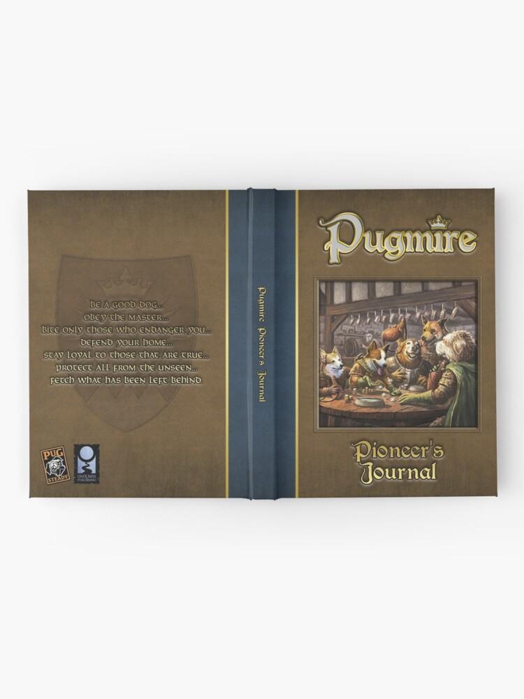 Alternate view of Pugmire: Pioneer's Journal Hardcover Journal