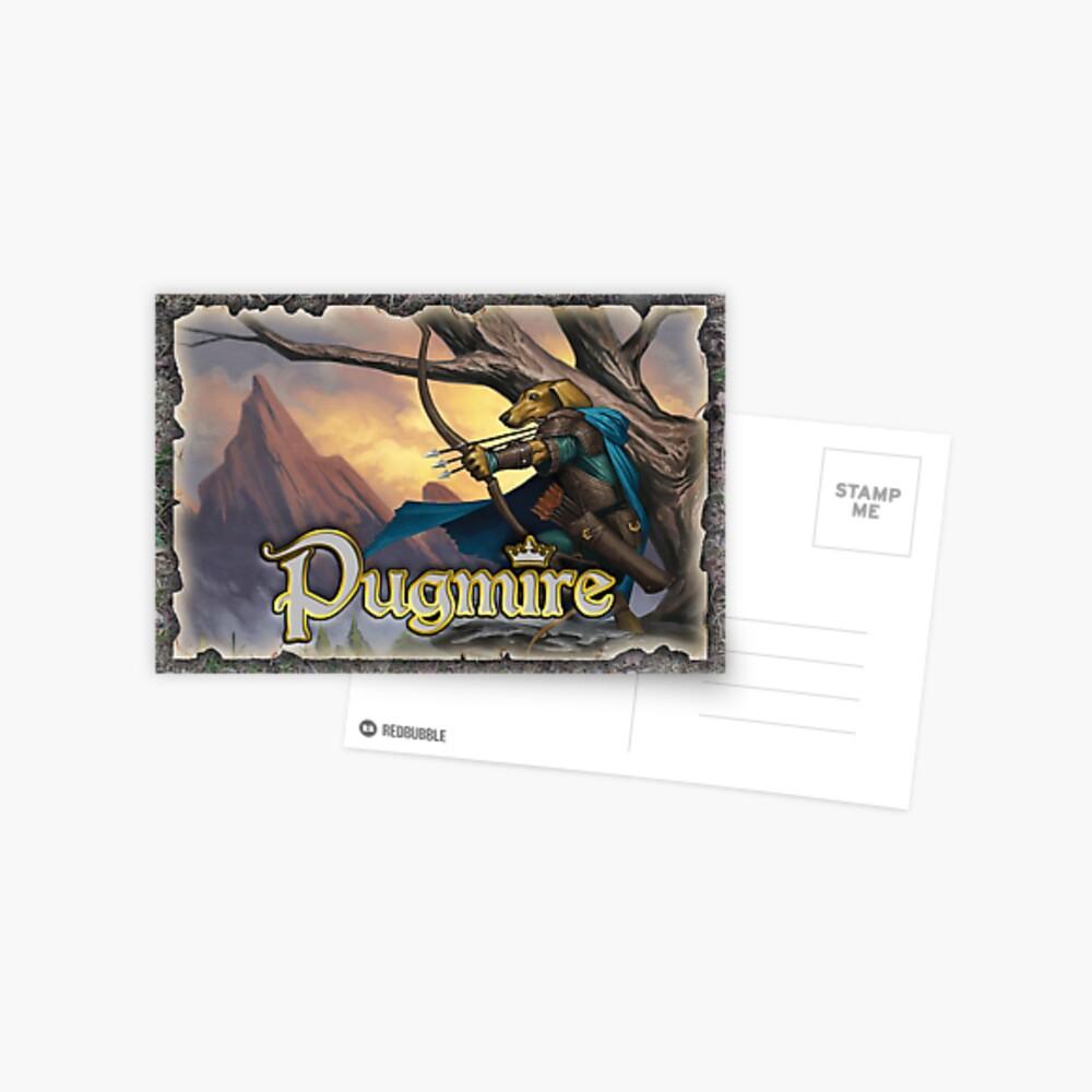 Pugmire: Trickshot Postcard