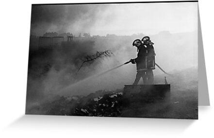 Fire#3 by Vivi Kalomiri