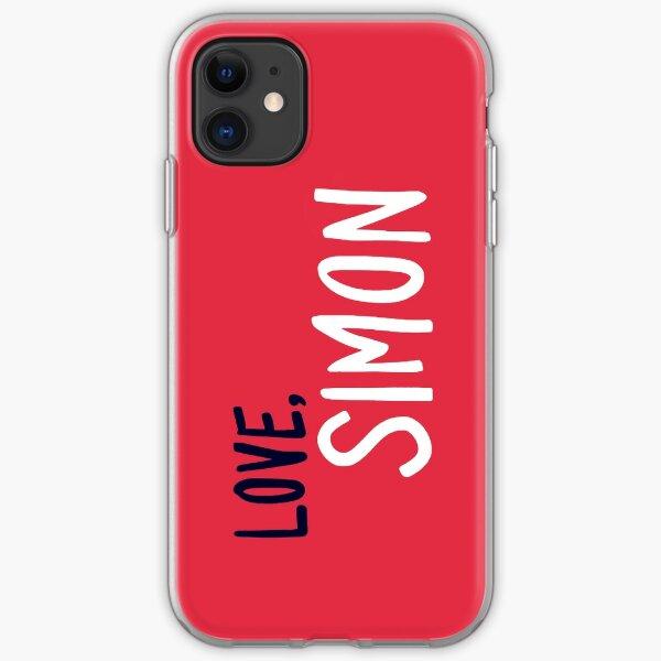 Love, Simon - Logo iPhone Soft Case