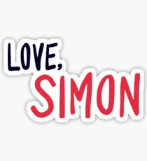 Love, Simon - Logo Sticker