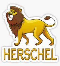 Herschel Lion Drawstring Bags Sticker