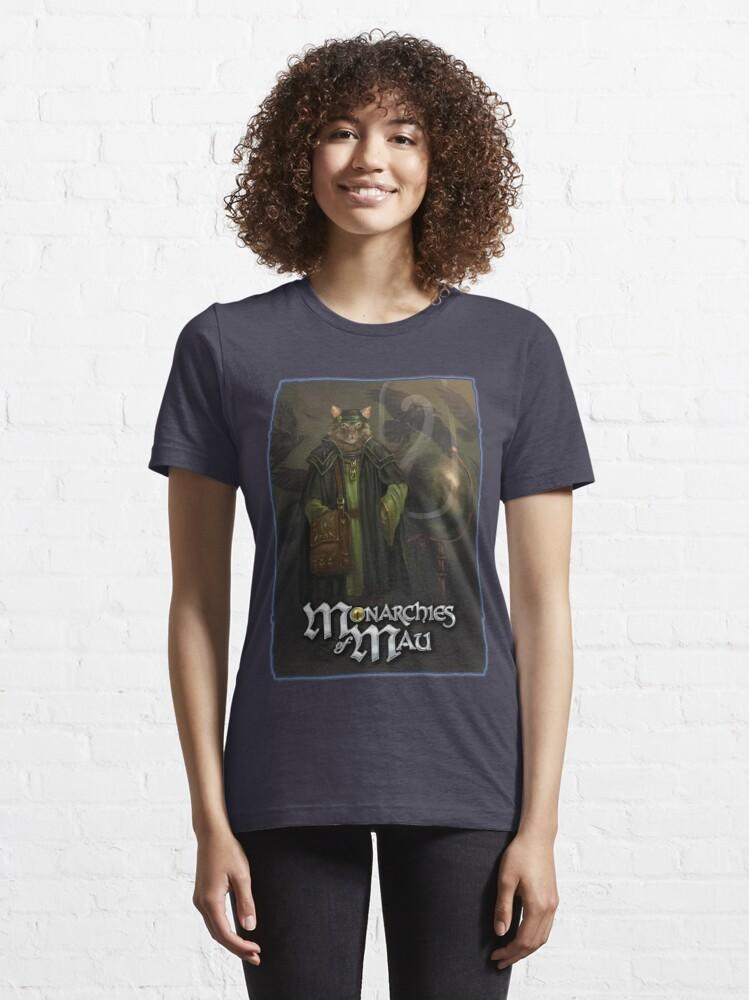 Alternate view of Monarchies of Mau: Malcolm Essential T-Shirt