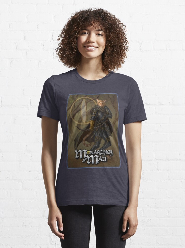 Alternate view of Monarchies of Mau: Monifa Essential T-Shirt