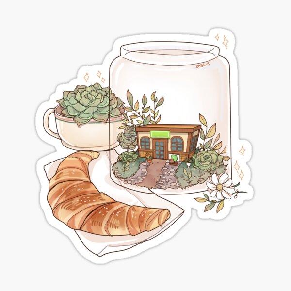 The Roost terrarium Sticker