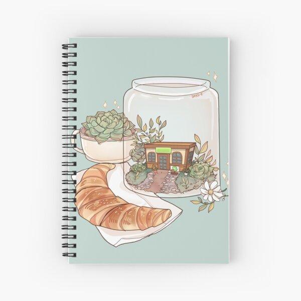 The Roost terrarium Spiral Notebook