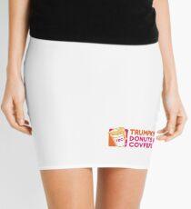 Trumpkin' Donuts & Covfefe  Mini Skirt