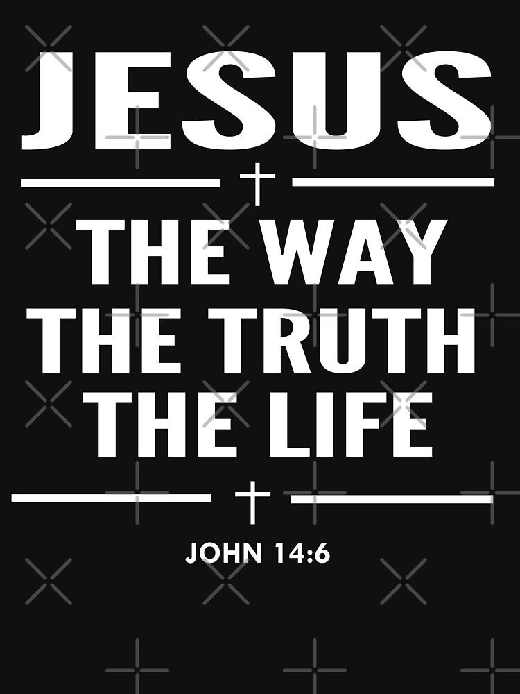 Jesus The Way The Truth The Life John 14:6 Christian Gift by sacredoriginals