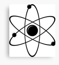 Simple Atom II Canvas Print