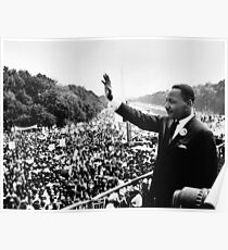 Martin Luther King Jr Sprache Poster