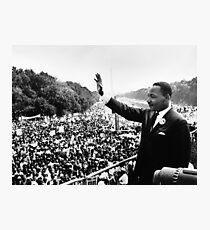Martin Luther King Jr Speech Photographic Print