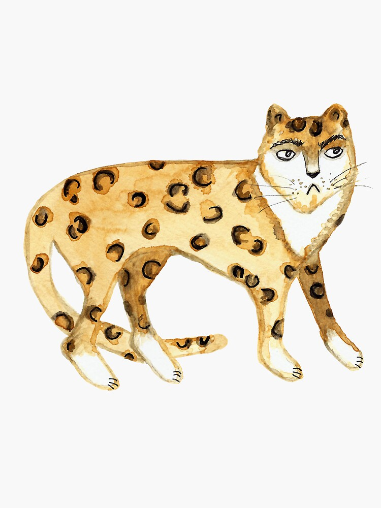 Grumpy cat - hand painted funny kitty by shoshannahscrib