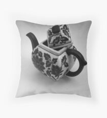 Afternoon Elegance Throw Pillow