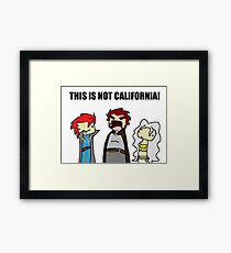 This is Not California Framed Print