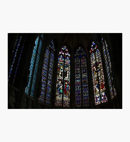 Mediaeval Glass Photographic Print