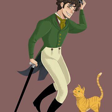 M. Courfeyrac & Tomcat by TheSketcher