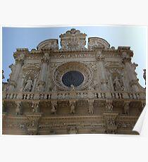 The basilica of Santa Croce in Lecce Poster