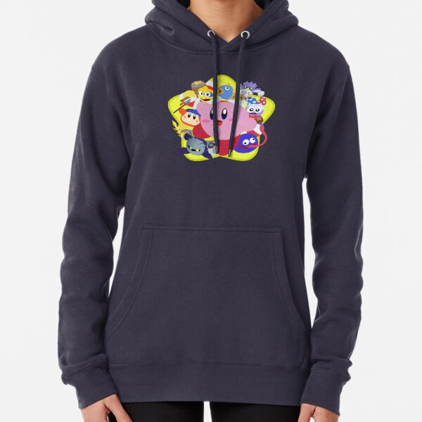 Friendly Face - Kirby Star Allies Pullover Hoodie