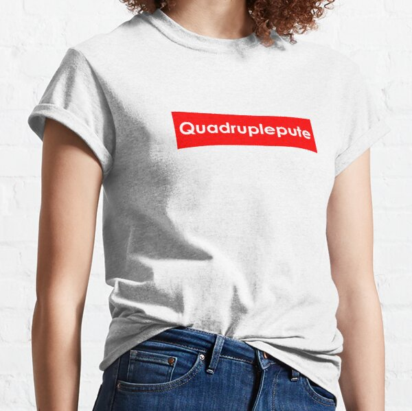 T-Shirt Alkpote Quadruplepute T-shirt classique