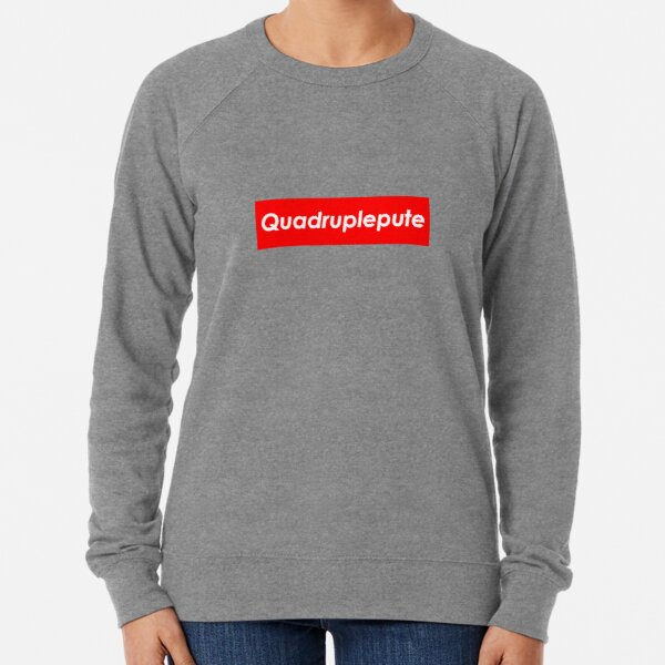 T-Shirt Alkpote Quadruplepute Sweatshirt léger