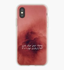 Just Stop Your Crying iPhone Case