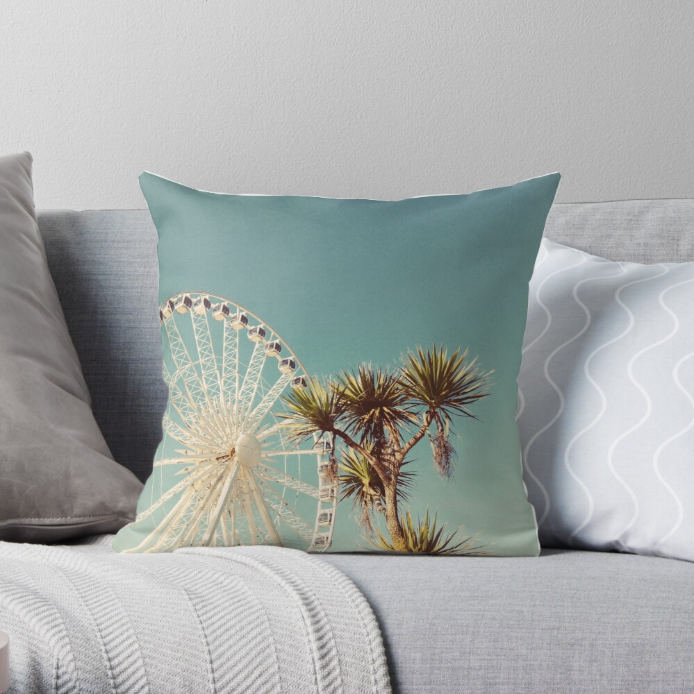 The Height of Summer Throw Pillow