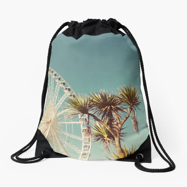 The Height of Summer Drawstring Bag