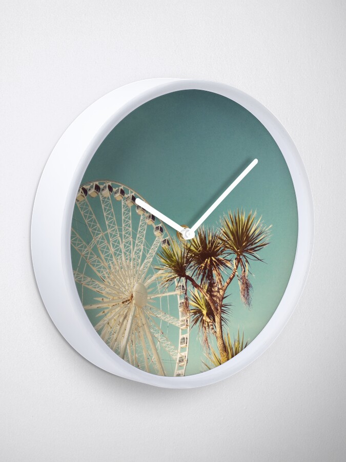 Alternate view of The Height of Summer Clock