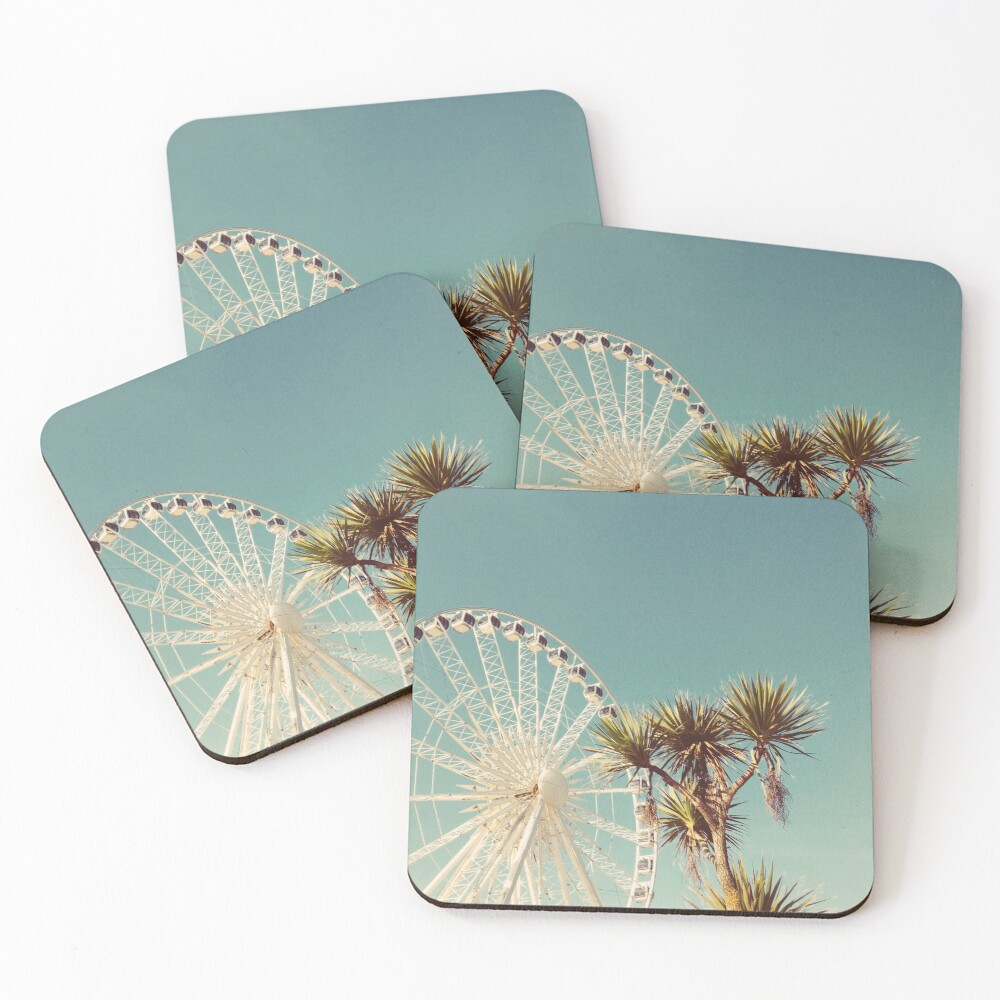 The Height of Summer Coasters (Set of 4)