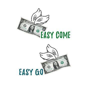 Money flying  by manatti