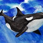 Orca Baby by Randy Sprout