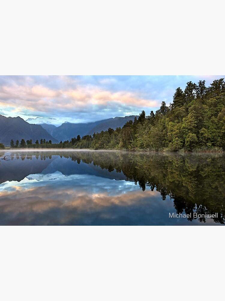 Lake Matheson Dawn, South Island, New Zealand by Chockstone