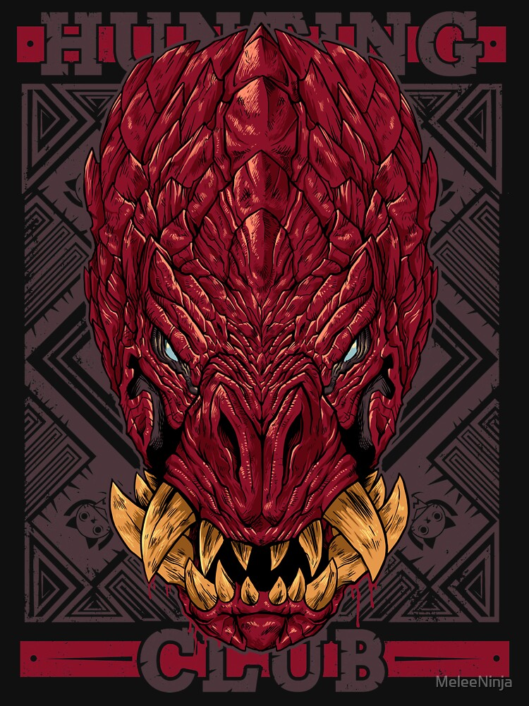 Hunting Club: Odogaron by MeleeNinja